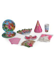 Themez Only Birthday Party Kit Princess Theme Set Of 7 - Pink