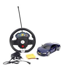 Smiles Creation Remote Control Car - Navy Blue & Black