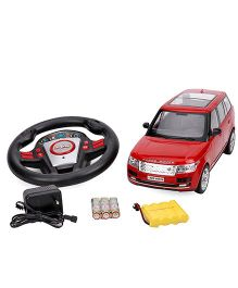 Mitashi Dash RC Rechargeable Range Rover Car - Red And Black