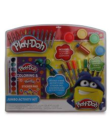 Play-Doh Jumbo Activity Kit in Clamshell - Multi Color