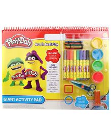 Play-Doh Giant Activity Pad And Kit - Multi Color