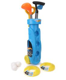 Funfactory Hotwheels Golf Set Trolley - Blue & Yellow