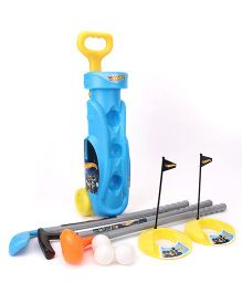Funfactory Hotwheels Golf Set Trolley - Light Blue & Yellow