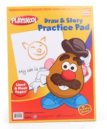 Playskool Draw And Story Pad In Tray - 40 Sheet
