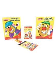 Playskool Fun Case Coloring And Activity Book Multi Color - English