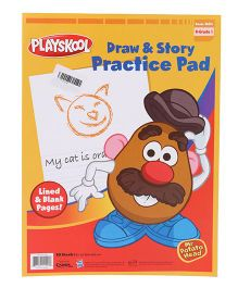 Playskool Draw & Story Practice Pad - 30 Sheets