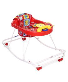 New Natraj 3 In 1 Walker - Red