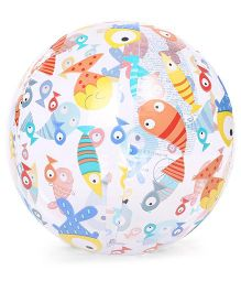 Intex Multicolour Intex Lively Print Beach Ball - Multicolour