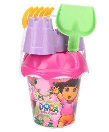 Dora Beach Set 5 Pieces - Purple Pink Green