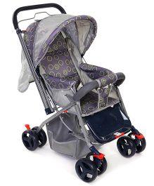 Mee Mee Stroller Cum Pram MM 20D - Grey
