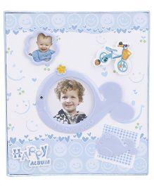 Baby Photo Album - Blue