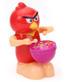 Playmate Angri Bird Drummer Toy - Red