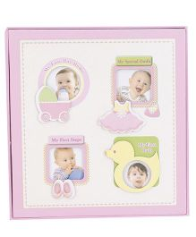 Baby Photo Album - Pink