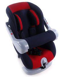 Convertible Car Seat - Navy Blue & Red