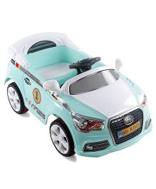 Battery Musical Operated Ride On - Green