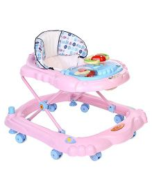 Toyzone Baby Walker Teddy Print - Pink