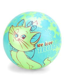 Kids Ball Cat Print  - Blue And Green