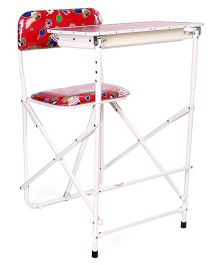 New Natraj Prestige Baby Study Desk - Red