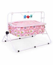 New Natraj Comfy Cradle Bear Print Pink - 030