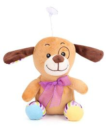 Dimpy Stuff Puppy Soft Toy Brown - 21 cm