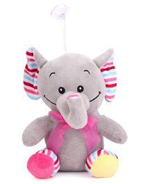 Dimpy Stuff Elephant Soft Toy Grey - 21 cm