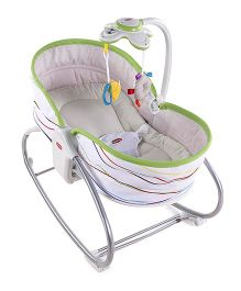 Tiny Love 3-In-1 Rocker Napper Flow - White And Green