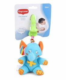 Tiny Love Tiny Smarts Eli Elephant - Blue And Green