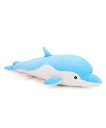 Dimpy Stuff Dolphin Soft Toy Blue - 50 cm