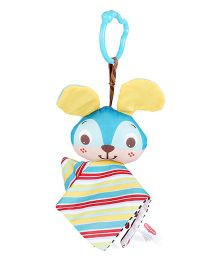 Tiny Love Crinkly Bunny Toy - Green And Blue