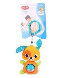 Tiny Love Belly Puppy Clip On Toy Multi Color - 16 cm