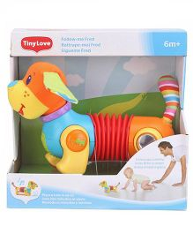 Tiny Love Follow Me Fred Dog toy - Multi color