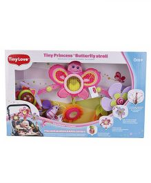 Tiny Love Tiny Princess Butterfly Stroll Clip On Toy Multi Color - 50 cm
