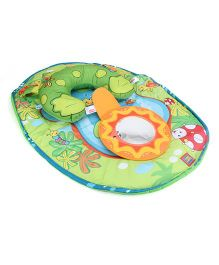 Tiny Love Tummy Time Fun Frog - Green And Blue