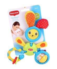 Tiny Love Bunny Trio Toy Clip on Toy - Multi Color
