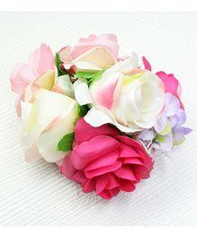 Asthetika Flower Bunch Hair Clip - Pink
