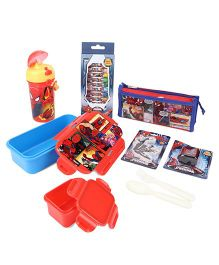 Marvel Spider Man School Kit - Red And Blue