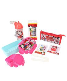 Disney Minnie Mouse School Kit - Pink And Blue