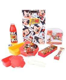 Disney Mickey Mouse School Kit - Red