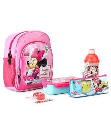 Disney Minnie Mouse School Kit - Pink