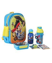Disney Jake The Pirate School Kit - Blue