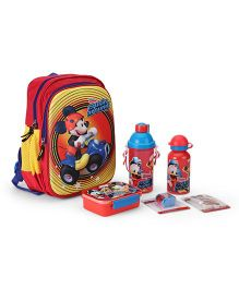 Mickey Mouse School Kit - Red