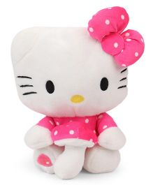 Dimpy Stuff Hello Kitty Soft Toy Pink And White - 30 cm