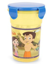 Chhota Bheem Tumbler Yellow And Blue - 450 ml