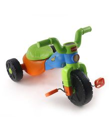 LuvLap Go Baby Tricycle Bike - Green Blue Orange