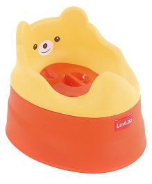 Luv Lap Baby Potty Training Chair - Orange And Yellow