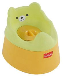 Luv Lap Baby Potty Chair - Green Yellow