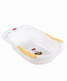 Luv Lap Baby Bubble Anti Slip Bathtub - Yellow