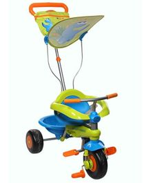 Smart Trike Tricycle - Green and Blue