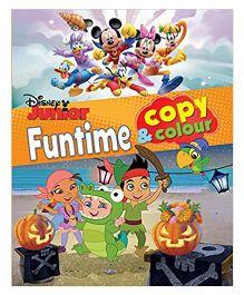 Disney Junior Funtime Copy & Color - English