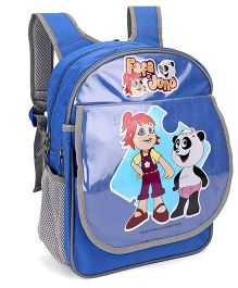 Pep India Fafa And Juno School Bag Blue - 14 Inches